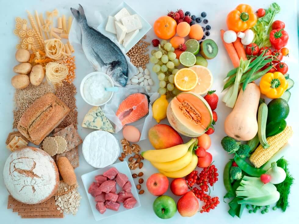 Таблица пунктов продуктов диета