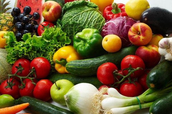 Полезные сырые овощи