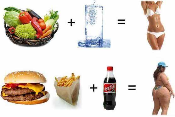 Полезные продукты для похудения и вредные
